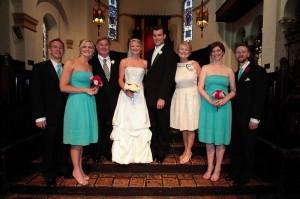 karin wedding family pic
